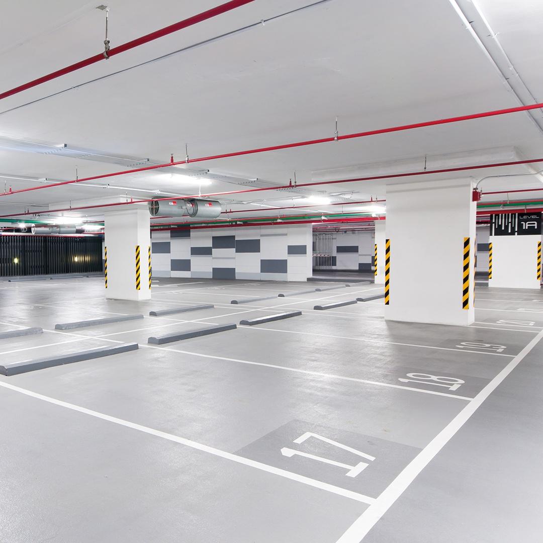 Garagen- & Parkplatzreinigung